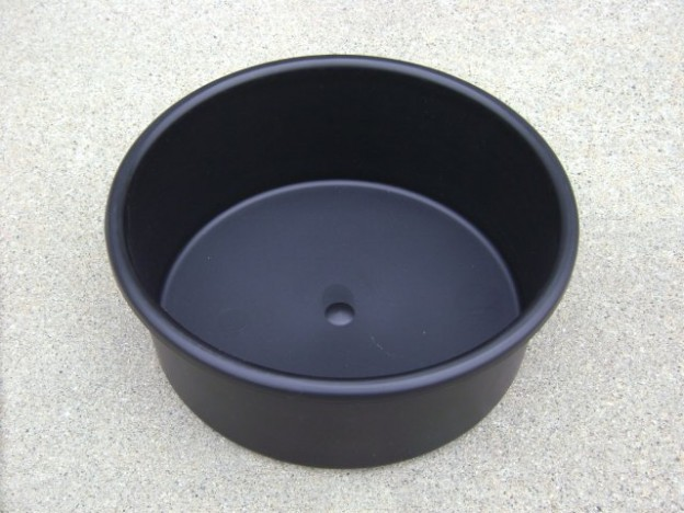 Fish cleaning, horse feed, dog food bowl
