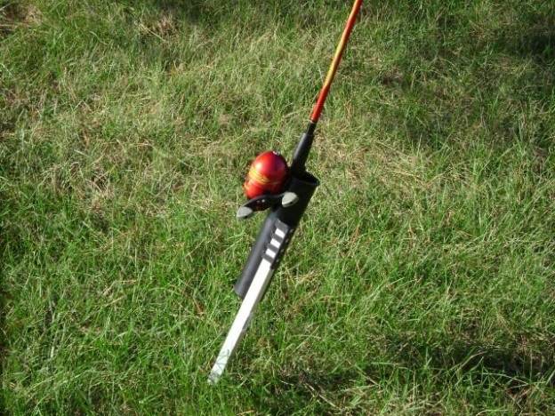 Staked Rod Holder