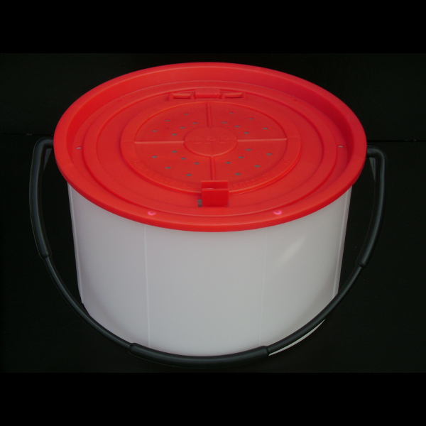 50252 6 Qt Minnow Bucket Challenge Plastic Products Inc
