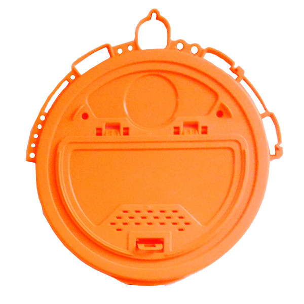 Deluxe Orange Five Gallon Bucket Lid