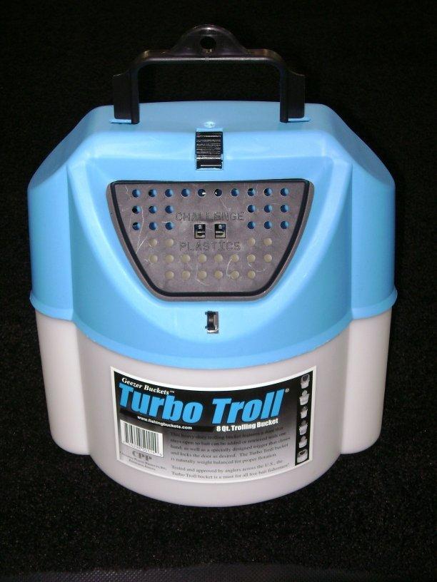 Challenge 50114 Turbo Troll Minnow Bait Bucket 26530
